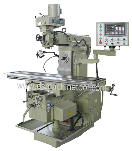 HT1800 Vertical and Horizontal Milling Machine